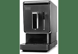 Cafetera superautomática - Black & Decker BXCO1470E, 19 bar, 1470 W, 1.2 l, Molinillo, Boquilla de café, Negro
