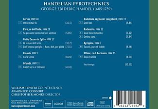 William Towers, Armonico Consort - Handelian Pyrotechnics  - (CD)