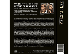 Valiquette/Junker/Fuget/Orchestre de l'Opéra Royal - Leçons de Ténèbres  - (CD)