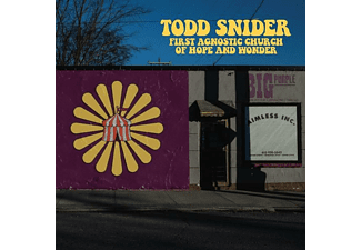 Todd Snider - FIRST AGNOSTIC CHURCH OF HOPE AND WONDER  - (Vinyl)