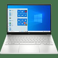 HP ENVY 14-eb0357ng, Notebook mit 14 Zoll Display, Intel® Core™ i5 Prozessor, 8 GB RAM, 512 GB SSD, Intel Iris Xe Graphics, Silber