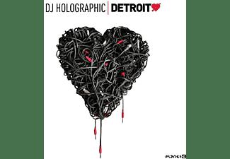 Various/DJ Holographic - DETROIT LOVE VOL.5  - (LP + Bonus-CD)
