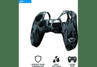 TRUST 24171 Gaming GXT 748, Silikon-Hülle für PS5 Controller, Schwarz