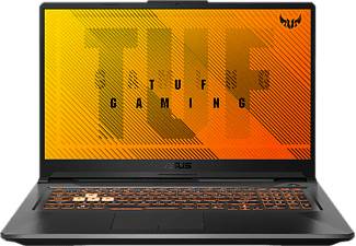 ASUS Gaming Notebook TUF A17 FA706IH-AU059T, R5-4600H, 16GB, 512GB, GTX1650, 17.3 Zoll FHD, Silber