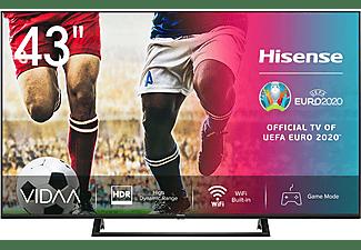 """TV LED 43"""" - Hisense 43A7300F, UHD 4K, Quad Core MSD6886, Smart TV, WiFi, DVB-T2, HDR10+, Bluetooth, Negro"""