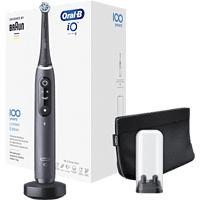 ORAL-B Elektrische zahnbürste iO Series 8 Black Onyx 100 Jahre Max Braun Edition