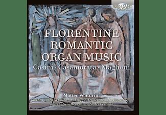 Matteo Venturini - Florentine Romantic Organ Music  - (CD)