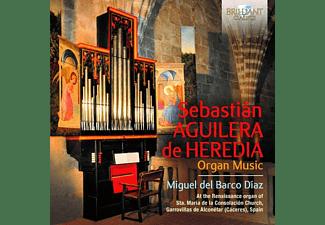 Miguel Del Barco Diaz - Aguilera De Heredia:Organ Music  - (CD)