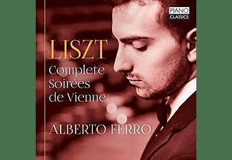 Alberto Ferro - Liszt:Complete Soirees De Vienne  - (CD)