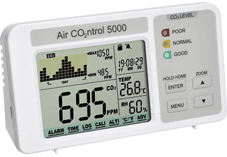 TFA 31.5008.02 AIRCO2NTROL 5000 CO2-Monitor