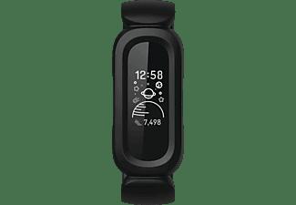 FITBIT Ace 3 Kinder, Fitness Tracker, S, L (116-168 mm), Schwarz/Apfelrot