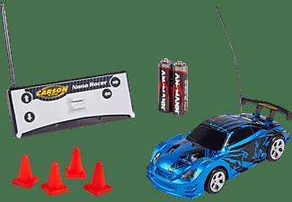 CARSON 1:60 Nano Racer Dragon 27 MHz 100% RTR ferngesteuertes Spielfahrzeug, Blau