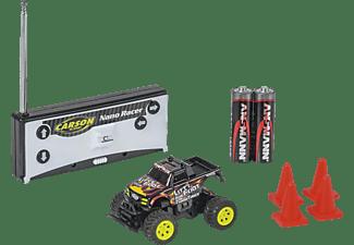 CARSON 1:60 NanoRacer Litt'l Foot 27MHz 100%RTR ferngesteuertes Spielfahrzeug, Schwarz