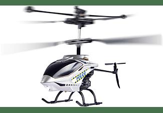 CARSON Police Tyrann 230 Gyro 2.4GHz 100% RTF ferngesteuerter Helikopter, Grau