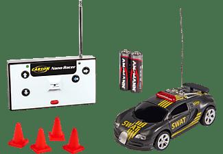 CARSON 1:60 Nano Racer SWAT  27 MHz 100% RTR ferngesteuertes Spielfahrzeug, Schwarz