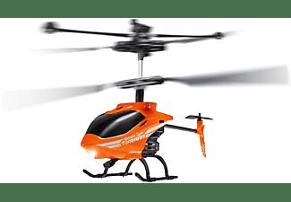 CARSON Nano Tyrann 230 Gyro IR 2CH 100% RTF ferngesteuerter Helikopter, Orange