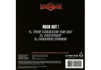 Overdrivers - Rock Out! EP  - (CD)
