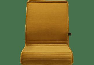 WRK21 Sitzkissen aus Samt passend zu 3D-Chair Design Sitzauflage, Gelb