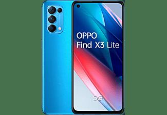 "Móvil - OPPO Find X3 Lite Azul,128GB, 8GB, 6,4"" Full HD+, Qualcomm Snapdragon 765G, 4300 mAh, Android"