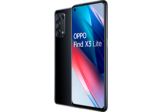 "Móvil - OPPO Find X3 Lite Negro,128GB, 8GB, 6,4"" Full HD+, Qualcomm Snapdragon 765G, 4300 mAh, Android"