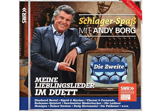 Andy/various Borg - Schlager-Spaß mit Andy Borg-Die Zweite-Meine L  - (CD)