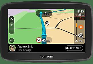 TomTom Navigationsgerät GO Basic (5 Zoll, Stauvermeidung dank TomTom Traffic, Karten-Updates Europa, Updates über Wi-Fi, umkehrbare Halterung)