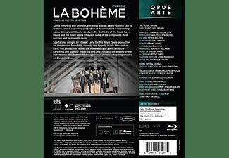 Castronovo/Yoncheva/Villaume/The Royal Opera Orch. - LA BOHEME  - (Blu-ray)