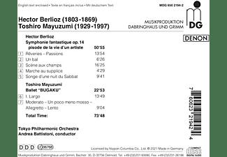 Andrea/tokyo Philharmonic Orchestra Battistoni - Orchestral Music  - (CD)