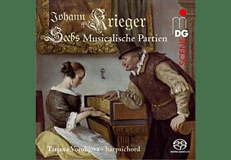 Tatjana Vorobjova - Sechs Musicalische Partien  - (SACD Hybrid)