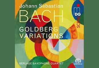 Berlage Quartet - Goldberg-Variationen (arr. by Peter Vigh)  - (SACD Hybrid)