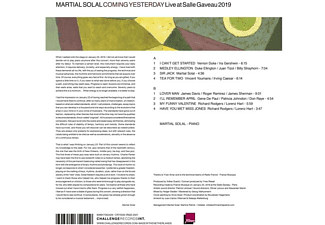Martial Solal - Coming Yesterday-Live At Salle Gaveau 2019  - (Vinyl)