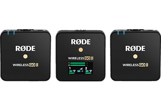 RODE Wireless GO II, Funksystem, Schwarz