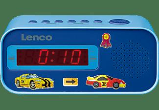 LENCO CR-205BU Radiowecker, FM, Blau