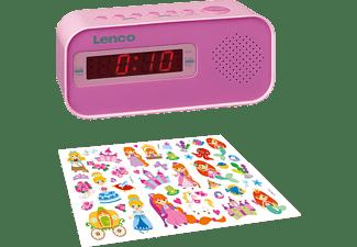 LENCO CR-205PK Radiowecker, FM, Pink