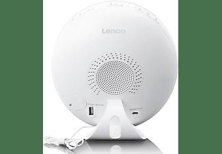 LENCO CRW-110WH Radiowecker, FM, Weiß