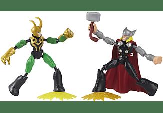 HASBRO Marvel Avengers Bend and Flex Thor gegen Loki Spielfiguren Mehrfarbig
