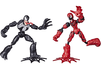 HASBRO Marvel Spider-Man Bend and Flex Venom gegen Carnage Spielfiguren Mehrfarbig