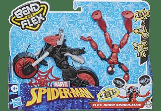 HASBRO Marvel Spider-Man Bend and Flex Rider Spielset Mehrfarbig