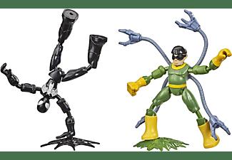 HASBRO Marvel Spider-Man Bend and Flex Black Suit Spider-Man gegen Doc Ock Spielfiguren Mehrfarbig