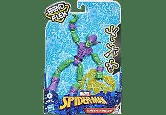 HASBRO Marvel Spider-Man Bend and Flex Grüner Kobold Spielfigur Mehrfarbig