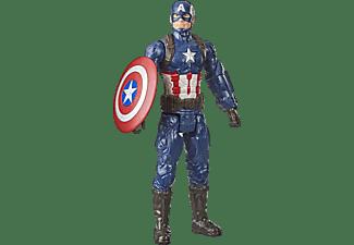 HASBRO Marvel Avengers Titan Hero Captain America Spielfigur Mehrfarbig