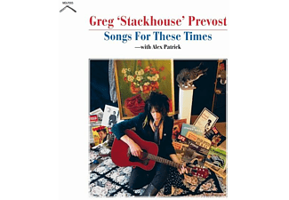 Greg  Stackhouse Prevost - SONGS FOR THESE TIMES  - (CD)