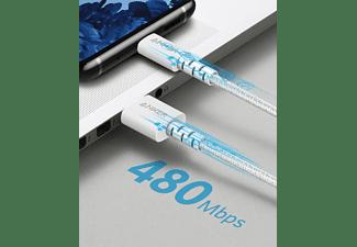 ANKER A8023H21, Kabel, 1,8 m, Weiß