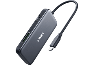 ANKER A8334HA1, USB-C Hub, Grau