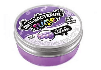 Slime antibacteriano - So Slime Anti-Bacterial, Elimina 99.9% de bacterias, Multicolor