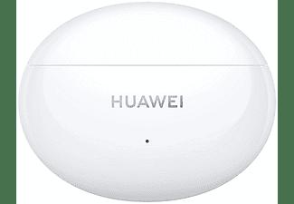 Auriculares inalámbricos - Huawei FreeBuds 4i, De botón, BT, 10 h, ANC, True Wireless, Blanco+Estuche de carga
