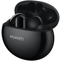 Auriculares inalámbricos - Huawei FreeBuds 4i, Bluetooth, 10 h, ANC, True Wireless, Negro