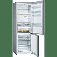 BOSCH Freistehende Kühl-Gefrier-Kombination Edelstahl-Optik KGN49XLEA