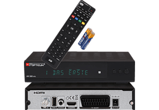 OPTICUM AX300 VFD DVB-S2 Receiver (DVB-S2, Schwarz)