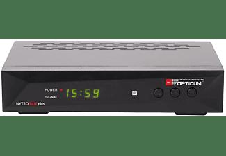 OPTICUM NYTRO BOX PLUS Receiver (HDTV, DVB-T2 HD, DVB-C, Schwarz)